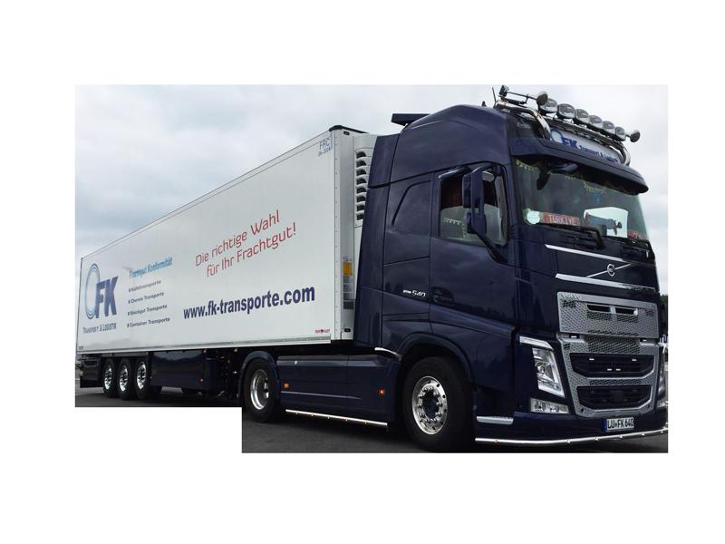 LKW von FK Transport & Logistik